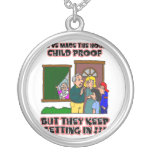 Funny Cartoon - Families & Children Who Come Home Jewelry