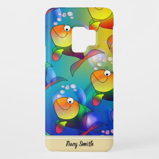 Funny cartoon fish Case-Mate samsung galaxy s9 case