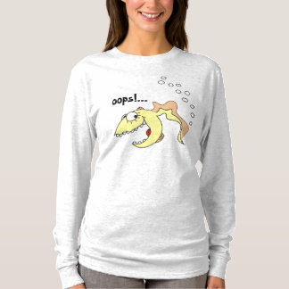 Funny Cartoon Fish Fart Shirt