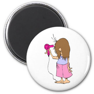 Funny Cartoon for Sleepyheads Magnet