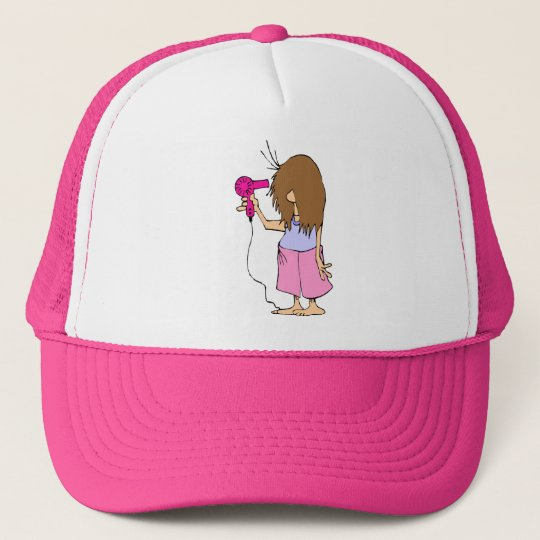 Funny Cartoon for Sleepyheads Trucker Hat