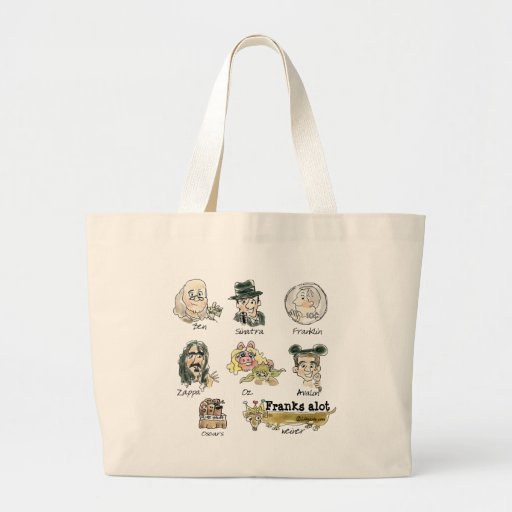 Funny Cartoon Frank You Very Much Tote Bag