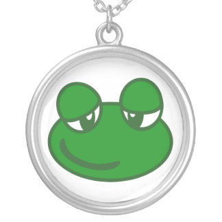 Funny Cartoon Frog Personalized Necklace