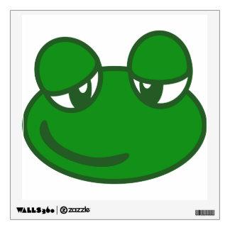 Funny Cartoon Frog Wall Sticker