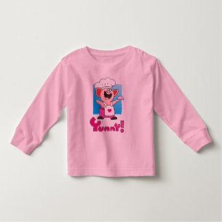 Funny Cartoon | Funny Cartoon Pig Chef Toddler T-shirt