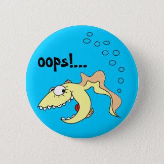 Funny Cartoon Goldfish Fart Button