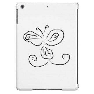 Funny Cartoon Insect Face iPad Air Cover