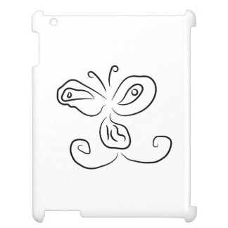 Funny Cartoon Insect Face iPad Case
