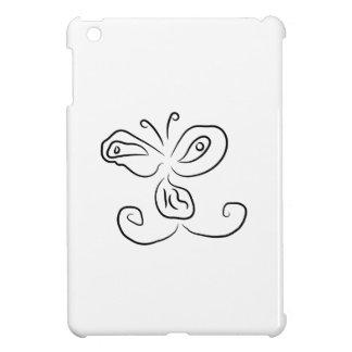Funny Cartoon Insect Face iPad Mini Cases