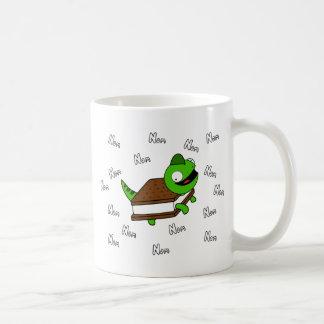 Funny Cartoon Lizard Coffee Mug