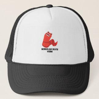 Funny Cartoon Mongolian Death Wprm Trucker Hat