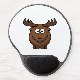 Funny Cartoon Moose Gel Mouse Pad