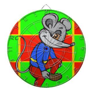 Funny Cartoon Mouse Dartboard