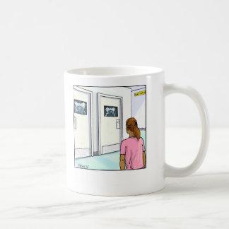 Funny Cartoon Mug- Radiology Coffee Mug