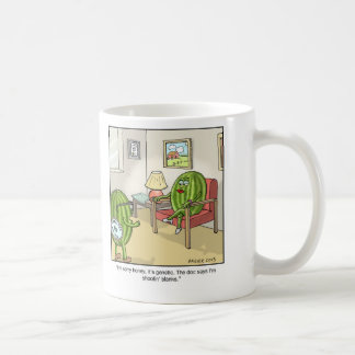 Funny Cartoon Mug- Seedless Coffee Mug