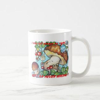 funny cartoon mushrooms mom kid coffee mug