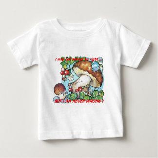 funny cartoon mushrooms mom kid t-shirt