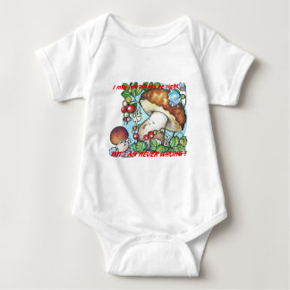funny cartoon mushrooms mom kid tee shirt