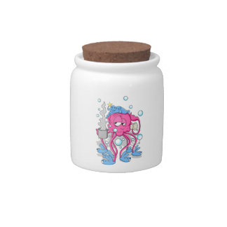 Funny Cartoon Octopus Candy Dishes