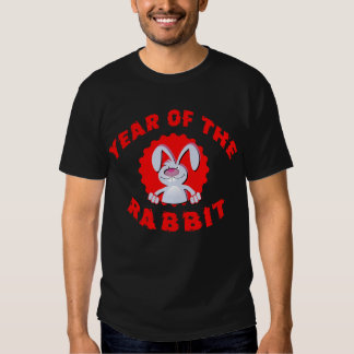 Funny Cartoon Rabbit Year of the Rabbit Gifts Shirt