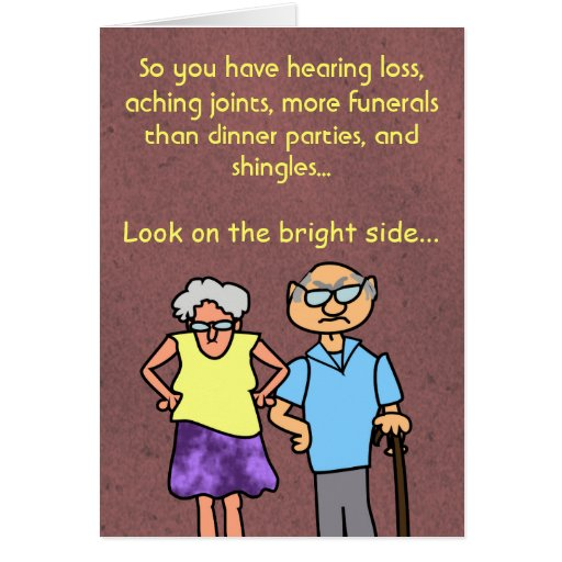 Old age ecards