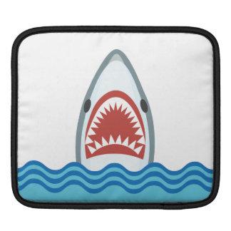 Funny Cartoon Shark Head Sleeves For iPads