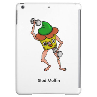 Funny Cartoon Stud Muffin Workout Cover For iPad Air