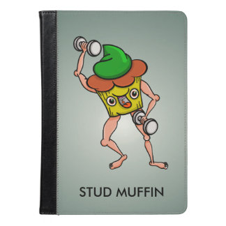 Funny Cartoon Stud Muffin Workout iPad Air Case