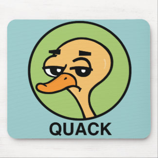 FUNNY CARTOON STYLE DUCK MOUSE PAD