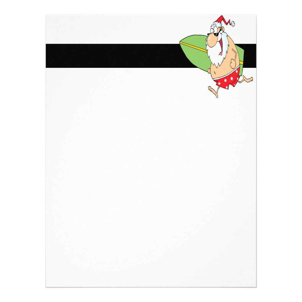 Santa Letterhead Word Santa Claus Letterhead