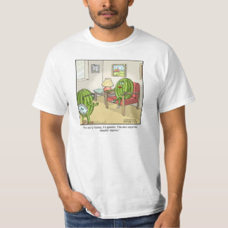 Funny Cartoon T-shirt-Seedless T-Shirt