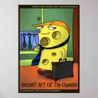 Funny Cartoon Tai Chi Poster by Rick London