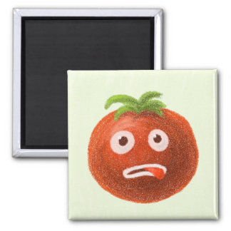 Funny Cartoon Tomato Magnet