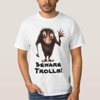 Funny Cartoon Troll T Shirt