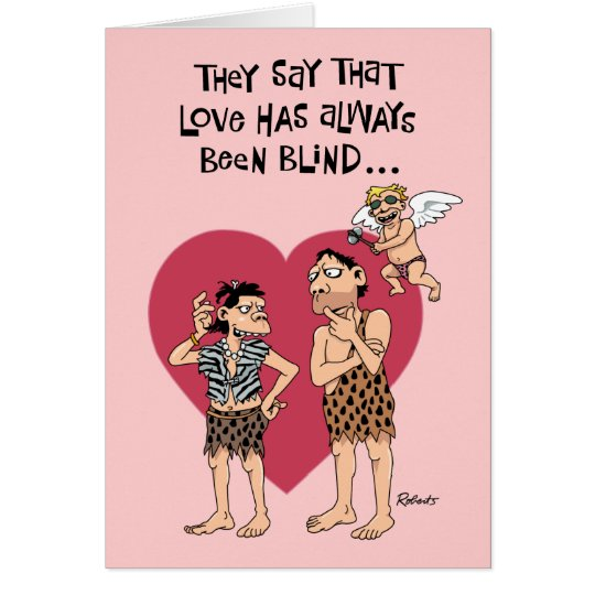 Funny Cartoon Valentine Card