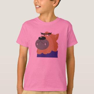 funny cartoon werewolf wolf T-Shirt