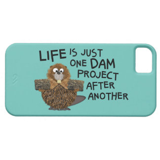 Funny Case for the Him or Her Busy Beaver iPhone 5 Covers