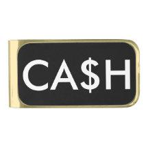 Funny Cash Dollar Sign Money Clip