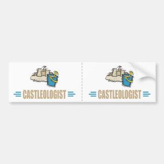 Funny Castle Bumper Sticker