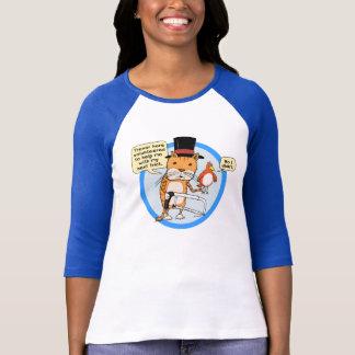 Funny Cat and Bird Magic Trick T-Shirt