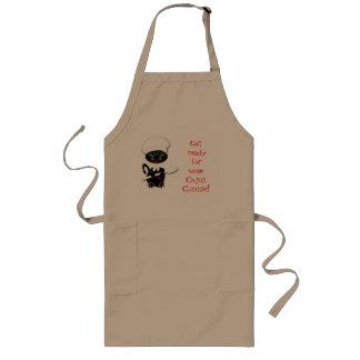 Funny Cat Apron Cajun Chef