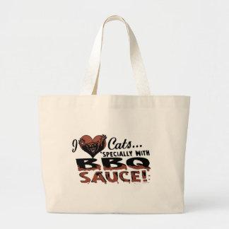 Funny Cat BBQ Bags