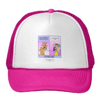 Funny Cat Cartoon (Cat Scams) Cap Trucker Hat