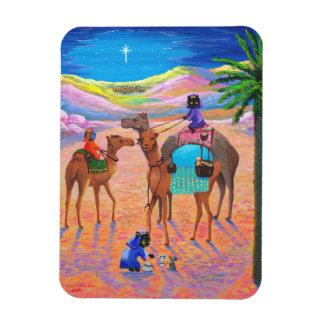 Funny Cat Christian Christmas Creationarts Magnets