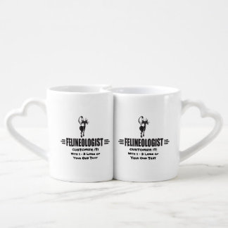 Funny Cat Coffee Mug Set