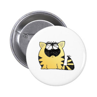 Funny Cat cry 2 Inch Round Button