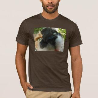 Funny cat face close up photo T-Shirt