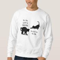 Funny Cat House Sweatshirt