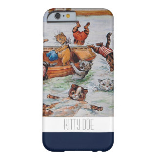 Funny Cat iPhone6 Case - Louis Wain's Boating Cats