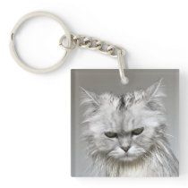 Funny Cat Key Chain